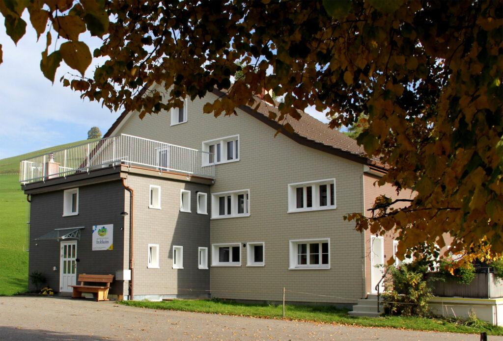 Gast- und Ferienhaus Frohheim Aussenansicht hinten